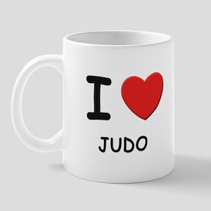 I love judo  Mug