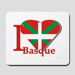 I love Basque Mousepad