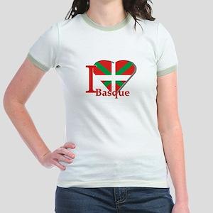 I love Basque Jr. Ringer T-Shirt