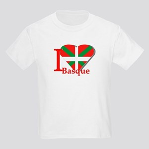 I love Basque Kids Light T-Shirt