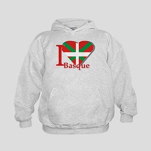 I love Basque Kids Hoodie