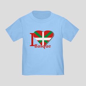 I love Basque Toddler T-Shirt