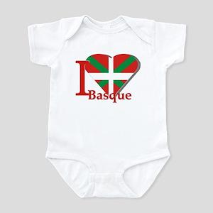 I love Basque Infant Bodysuit