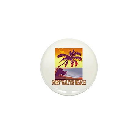 Fort Walton Beach, Florida Mini Button