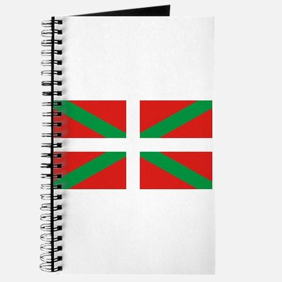 The Ikurriña, Basque flag Journal