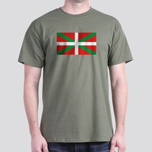 The Ikurriña, Basque flag Dark T-Shirt