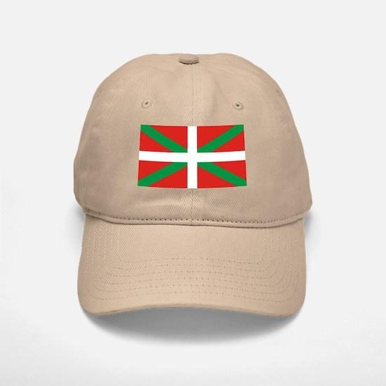 The Ikurriña, Basque flag Baseball Baseball Cap