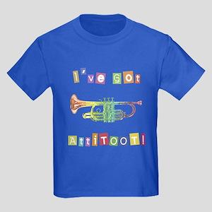 Trumpet Attitude Kids Dark T-Shirt
