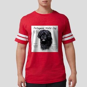 Portuguese Water Dog Mens Football Shirt