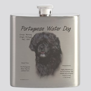 Portuguese Water Dog Flask