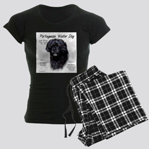 Portuguese Water Dog Women's Dark Pajamas
