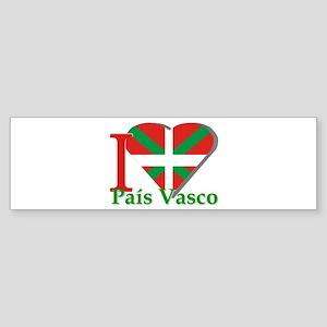I love Pais Vasco Bumper Sticker
