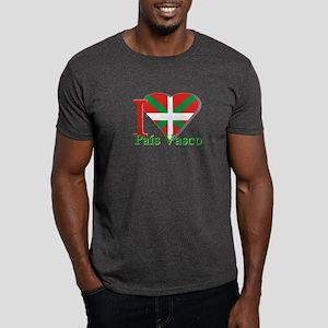 I love Pais Vasco Dark T-Shirt