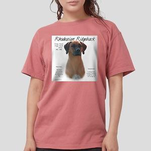 Rhodesian Ridgeback Womens Comfort Colors Shirt