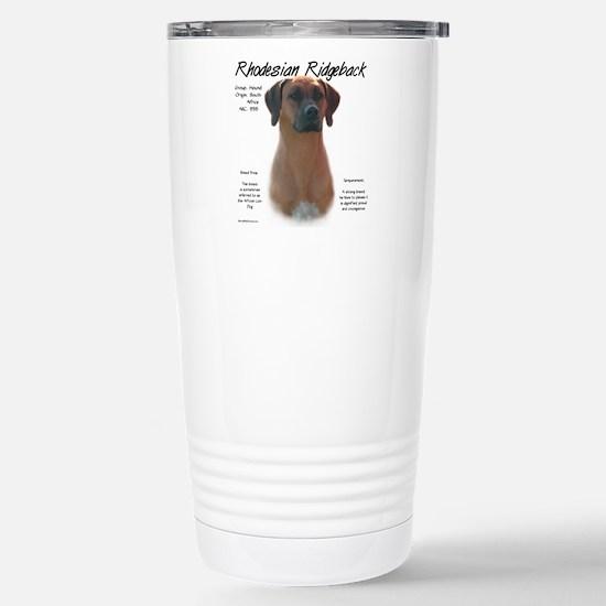 Rhodesian Ridgeba Travel Mug