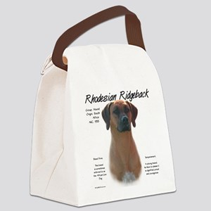 Rhodesian Ridgeback Canvas Lunch Bag