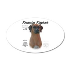 Rhodesian Ridgeback Wall Decal