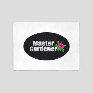 Master Gardener - Hibiscus 5'x7'Area Rug