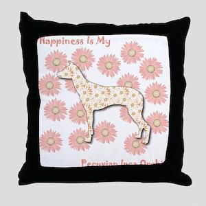 PIO Happiness Throw Pillow