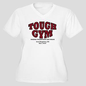 Tough Gym 2 Women's Plus Size V-Neck T-Shirt