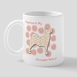 Buhund Happiness Mug
