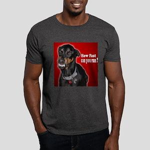 Doberman Pinscher Smiles Dark T-Shirt