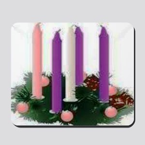 Advent Candles Mousepad