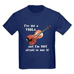 I've Got a Viola Kids Dark T-Shirt