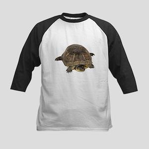 Blandings Turtle Kids Baseball Jersey