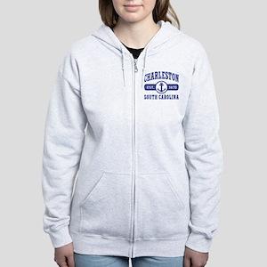 Charleston SC Women's Zip Hoodie