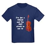 I've Got a Cello Kids Dark T-Shirt