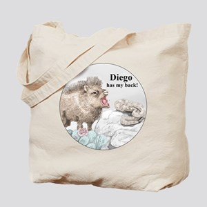 Diego has my back! Tote Bag