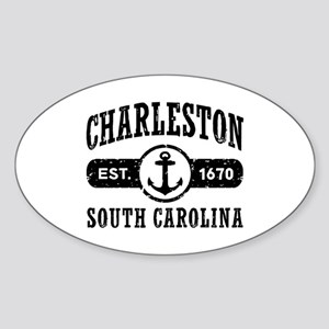 Charleston SC Sticker (Oval)