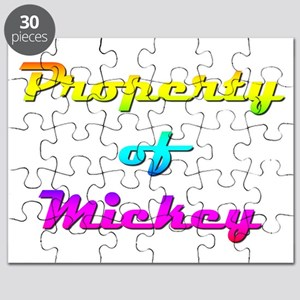 Property Of Mickey Female Puzzle