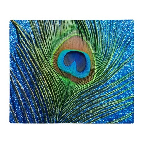 peacock feather blankets cafepress rh cafepress com peacock feather meaning peacock feather drawing