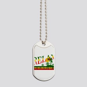 Relax Dog Tags