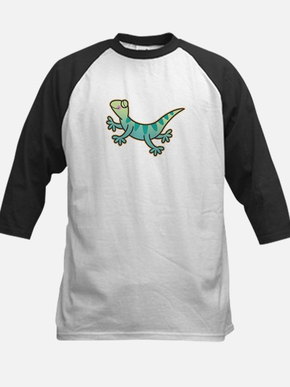 Leaping Lizards Kids Baseball Jersey