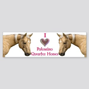 Palomino Bumper Sticker
