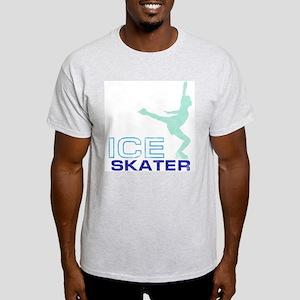 Ice Skating Collage Light T-Shirt
