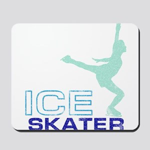 Ice Skating Collage Mousepad