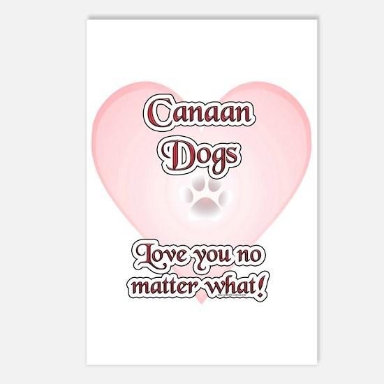 Canaan Dog Love U Postcards (Package of 8)
