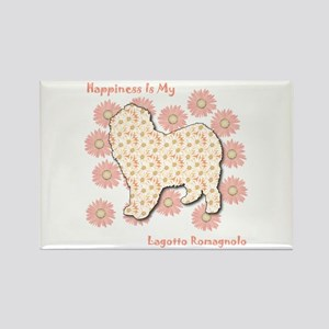 Lagotto Happiness Rectangle Magnet