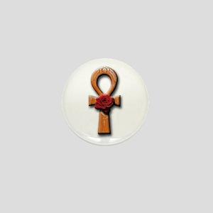 Ra Rose-Ankh Mini Button