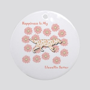 Llewellin Happiness Ornament (Round)