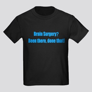 Funny Brain Surgery Kids Dark T-Shirt