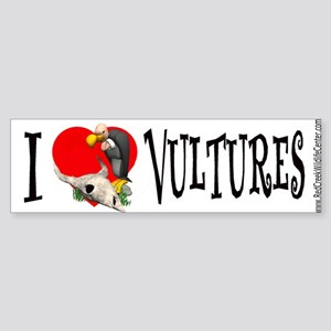 vulture cartoon Bumper Sticker