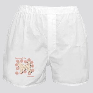 Otterhound Happiness Boxer Shorts