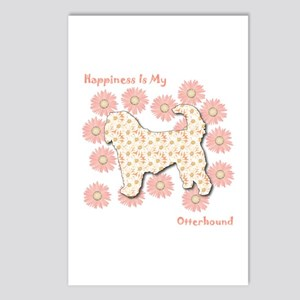 Otterhound Happiness Postcards (Package of 8)