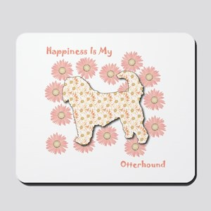 Otterhound Happiness Mousepad