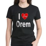 I Love Orem (Front) Women's Dark T-Shirt